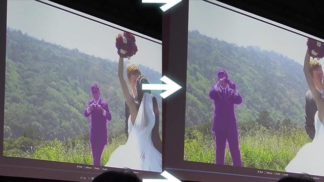 After Effectsの新しいマスク機能は追従精度が高い